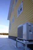 Riscaldamento della pompa termica Fotografie Stock