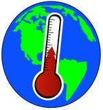 Riscaldamento globale illustrazione di stock