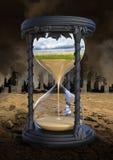 Riscaldamento globale, mutamento climatico, ambiente Immagini Stock