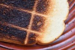 Riscaldi il pane servito per la prima colazione Fotografie Stock Libere da Diritti