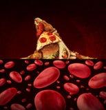 Rischio della malattia del sangue Fotografie Stock Libere da Diritti