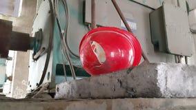 Rischio di incidente al posto di lavoro Fotografie Stock