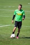 Rischio di Thorgan del giocatore di football americano in vestito di Borussia Monchengladbach Immagini Stock
