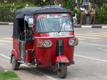 Risciò automatico nello Sri Lanka immagine stock libera da diritti