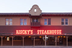 Riscky's Steakhouse in Fort Worth. Texas, USA Stock Images