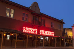 Riscky's Steakhouse in Fort Worth. Texas, USA Royalty Free Stock Photo
