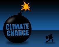 Risco das alterações climáticas Fotos de Stock