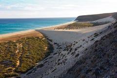 Risco del Paso, Fuerteventura Royalty Free Stock Image