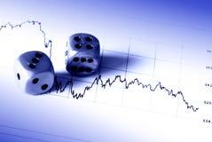 Risco financeiro imagem de stock royalty free