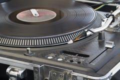 Risco que mistura o DJ para a música do hip-hop imagens de stock royalty free