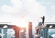 Riscos e conceito escondidos dos perigos Imagens de Stock