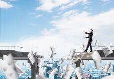Riscos e conceito escondidos dos perigos Foto de Stock