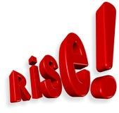 Rise !!! Stock Photo