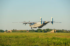 The rise of a heavy transport aircraft Antey Royalty Free Stock Photo