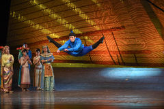 "Rise high into the air-Dance drama ""The Dream of Maritime Silk Road"" Royalty Free Stock Images"