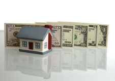 Rise prices on the real estate Stock Images
