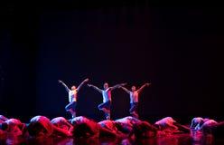 Rise of sacrifice-The national folk dance Stock Photo