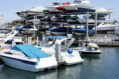 Rise Of The Speedboats. Speedboats are on the rise most specially in the summertime, really the best sports by the speedboats sports fans for the race Royalty Free Stock Photo