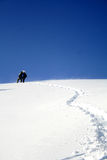Rise, to mountaineer stock photography