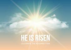 He is risen Stock Photos
