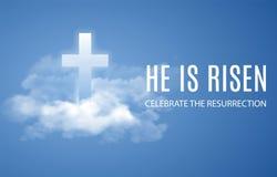 He is risen. Stock Image