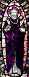 Risen Jesus Christ  in stained glass Stock Image