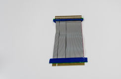 Riser for PCI slot in desktop computers Royalty Free Stock Photo