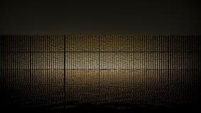 Riserva aurea Fotografie Stock