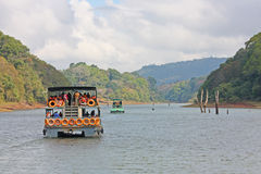 Riserva del lago Periyar Fotografie Stock