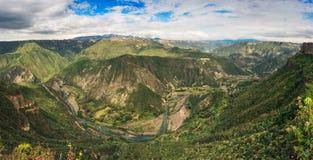Riserva di biosfera del canyon di Metztitlan, Messico fotografia stock