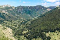 Riserva di biosfera di ello del ¼ di Argà Dichiarato dall'Unesco nel 2005, il Arg fotografie stock libere da diritti