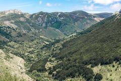 Riserva di biosfera di ello del ¼ di Argà Dichiarato dall'Unesco nel 2005, la riserva di biosfera di ellos del ¼ di Argà è un'are immagini stock