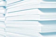 Riserva di carta in stamperia Immagini Stock