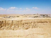 Riserva di Ramon Nature, Mitzpe Ramon, deserto di Negev, Israele fotografie stock