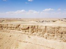 Riserva di Ramon Nature, Mitzpe Ramon, deserto di Negev, Israele immagine stock libera da diritti