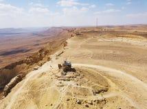 Riserva di Ramon Nature, Mitzpe Ramon, deserto di Negev, Israele immagine stock