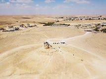 Riserva di Ramon Nature, Mitzpe Ramon, deserto di Negev, Israele fotografia stock