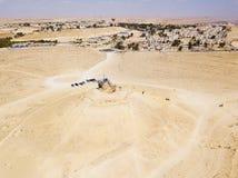 Riserva di Ramon Nature, Mitzpe Ramon, deserto di Negev, Israele fotografie stock libere da diritti