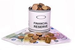 Riserva finanziaria Fotografie Stock Libere da Diritti