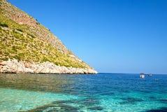 Riserva marina dello Zingaro, Sicilia Immagini Stock Libere da Diritti