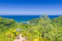 Riserva naturale affettuosa di Ferdinand, Seychelles immagine stock libera da diritti