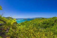 Riserva naturale affettuosa di Ferdinand, Seychelles immagini stock