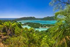 Riserva naturale affettuosa di Ferdinand, Seychelles fotografie stock libere da diritti