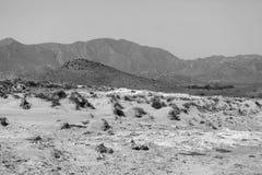 Riserva naturale dell'estremità del ` s di Gata-Nijar, Almeria L'Andalusia, Spagna Fotografie Stock