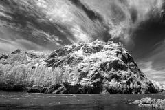 Riserva naturale di Biospheric dello stato di Altai, fiume di Chuia, Russia Fotografia Stock