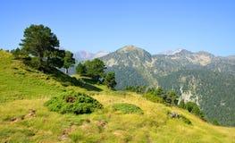 Riserva naturale nazionale di Neouvielle, francese Pirenei immagine stock