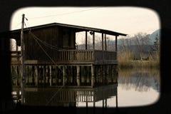 Riserva naturale, oasi Lipu Massaciuccoli, Lucca, Toscana Fotografie Stock Libere da Diritti