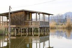 Riserva naturale, oasi Lipu Massaciuccoli, Lucca, Toscana Fotografia Stock