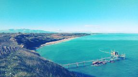 Riserva Naturale Punta Aderci, Vasto, Abruzzo Royalty-vrije Stock Afbeeldingen