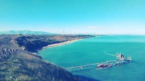 Riserva Naturale Punta Aderci, Vasto, Abruzzo royalty free stock images